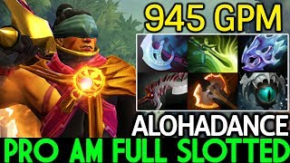 ALOHADANCE [Anti Mage] Pro AM Full Slotted 900 GPM Game Over 7.22 Dota 2