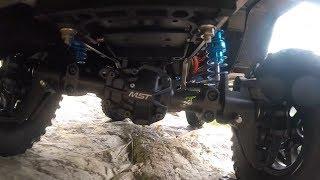 MST CFX-W Benz G-Class Rock Crawling