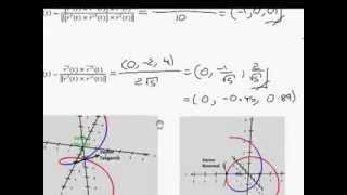 vectores tangente normal y binormal 1 de 3