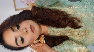 PAKISTANI/INDIAN WEDDING | Get Ready With Me In Urdu / Hindi