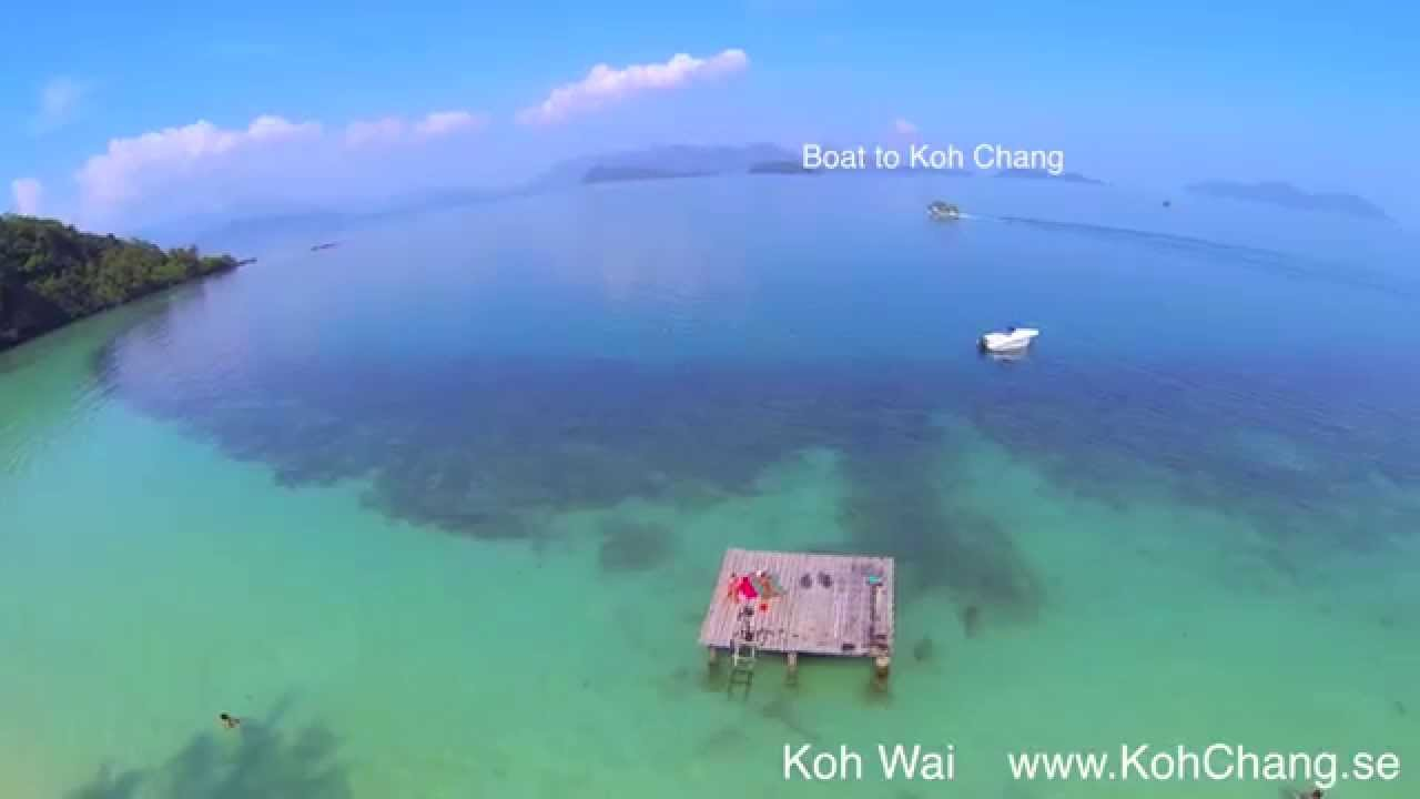 Koh Wai island, Sky view over Beach. 2014 Dji GoPro Thailand - YouTube