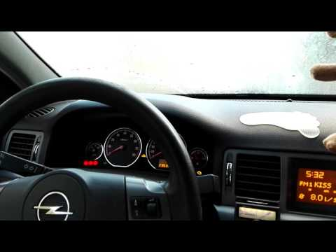 Opel Signum 1.8 103kw z18XER bad cold start