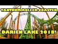 Tantrum NEW Roller Coaster at Darien Lake 2018 Front Seat POV
