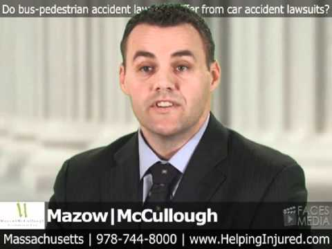 Do bus-pedestrian accident lawsuits differ from car accident lawsuits?