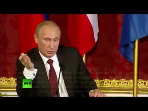 Putin  Die USA versuchen RUSSISCHE Gas Lieferungen nach Europa zu verhindern