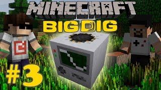 Minecraft: Big Dig #3 - QUARRY!