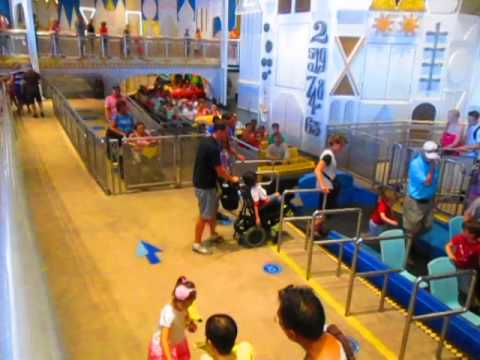 Disney World ride for wheelchair users-It's A...