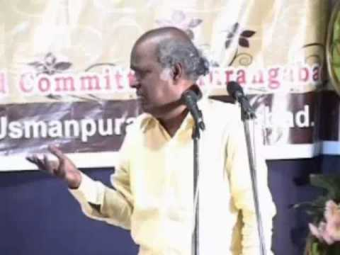 Rahat Indori.   Khalid Ahmed Aurangbad video