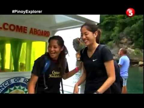 Romblon Blue Hole scuba dive with Aga Muhlach Pinoy Explorer tv 5