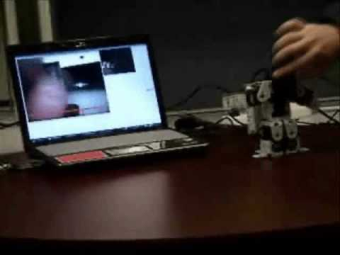 Callo Robot #03 - Gesture Animation using Hand Tracking