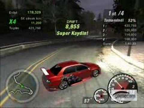 NFS UnderGround 2 Drift Record Music Videos