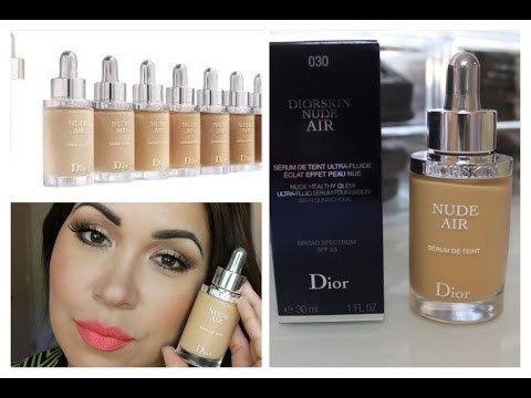 Dior Nude Air Serum Foundation Review and Demo