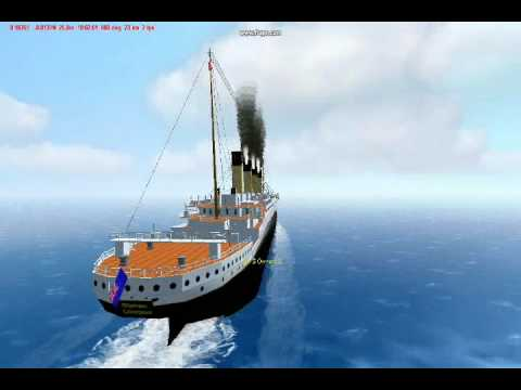 R.M.S Olympic in Virtual Sailor 7