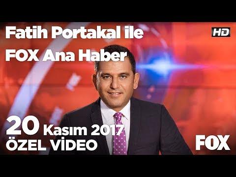 Avrupa'da yasak Türkiye'de serbest!20 Kasım 2017 Fatih Portakal ile FOX Ana Haber
