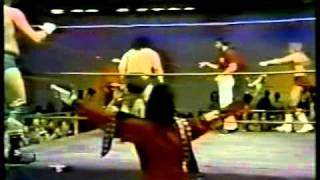 Cuban & Iranian Assassin vs. Ricky Morton & Thundercloud
