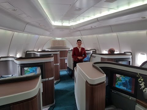 Cathay Pacific CX543 B747-400 First Class Tokyo Haneda to Hong Kong