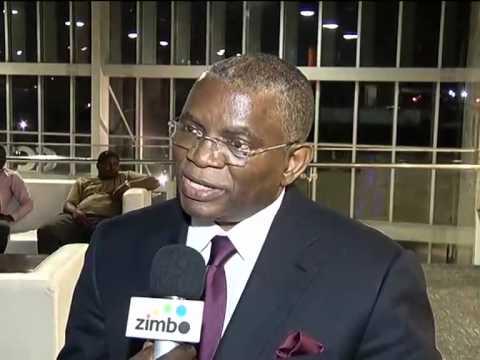 George Chicoty saúda nomeação de Catherine Samba- Panza   TV Zimbo  
