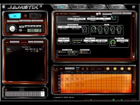 Jamstix 3 - Style & Drummer