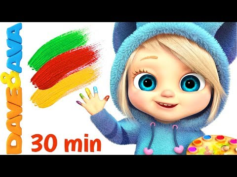🤩Baby Songs | Finger Family Colors Nursery Rhymes for Kids | Learn Colors with Baby Songs and Rhymes