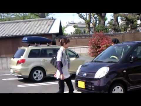 可愛い 美人 奥様 と 福ジョン 軽四 SPORTS CAR 動画