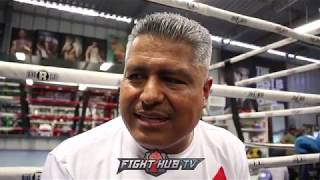"ROBERT GARCIA ON CHINO MAIDANA CANCELLING COMEBACK & RETIRING ""THEY KILLED HIM TOO FAST"