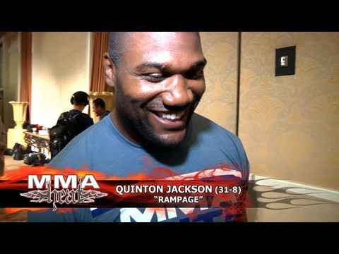 UFC 130's Rampage Jackson: 