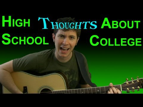 High School Thoughts About College