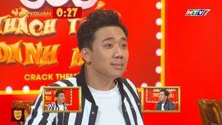 Thí sinh THÁCH THỨC DANH HÀI đòi chém Ngô Kiến Huy dọa đánh Trấn Thành, vì không mỉm cười   Hài TV