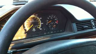 Engine problem of Mercedes 1995 E320 Wagon
