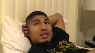 mikey garcia before his fight with burgos talks pacquiao vs bradley rematch EsNews Boxing