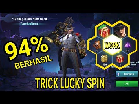 Trick Lucky Spin Skin Hero Roger +Buktinya  ! | Mobile Legends Trick