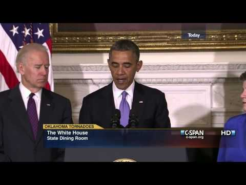 President Obama Statement on Oklahoma Tornado (C-SPAN)