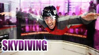 Ist Indoor Skydiving in Bottrop das Geld Wert? Extrem Fliegen Review - Test [Deutsch/German]
