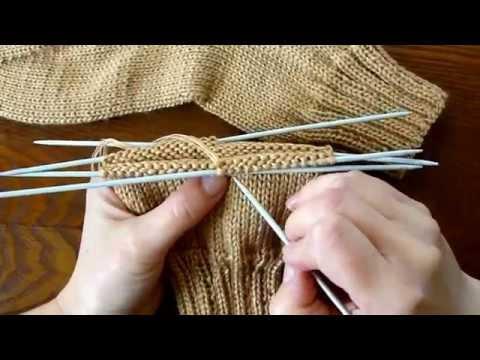 Видеоуроки по вязанию носков 702