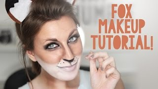 Fox Makeup Tutorial for Halloween | Wonder Forest