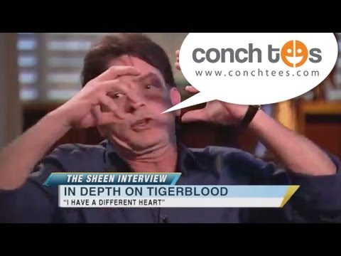 Exclusive Charlie Sheen Interview about Tiger Blood