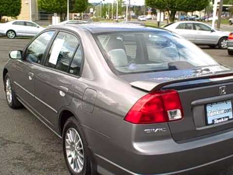2005 Honda Civic Ex Special Edition Rare Ron Tonkin Pre