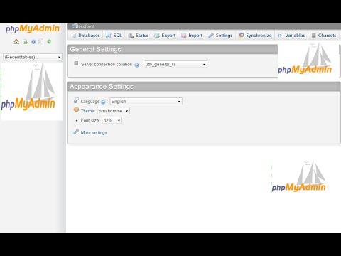 phpMyAdmin. Cómo Crear una copia de seguridad/base de datos (Facil yRapido..)
