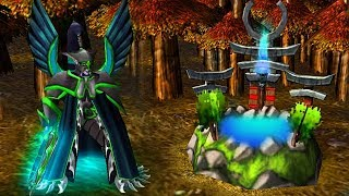 Играю только героем в Warcraft 3