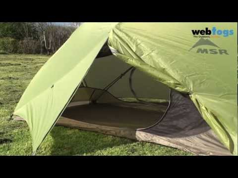 MSR Hubba Hubba 2 Person Tent - strong. roomy and lightweight backpacking tent.