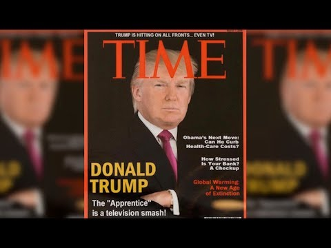 Of Course Trump Hangs Fake TIME Covers Of Himself In His Hotels