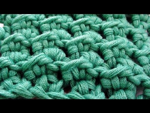 Crochet Stitches Written Instructions : Crochet Crunch Stitch - How to Crochet Crunch Stitch - YouTube