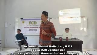 GUS WADUD :  WORKSHOP EKONOMI ISLAM
