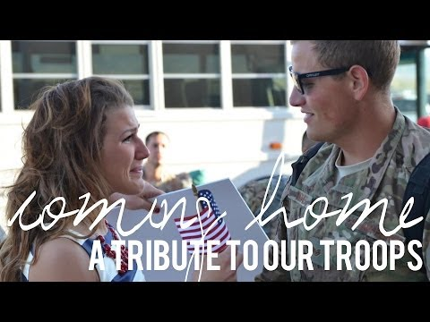 Coming Home - A Tribute to Our Troops