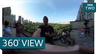 Central Park - New York: America's Busiest City | 360 Video - BBC Two