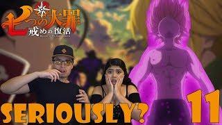 The Seven Deadly Sins Season 2 Episode 11 Reaction! (Nanatsu no Taizai) MELIODAS GETS HIS FULL POWER