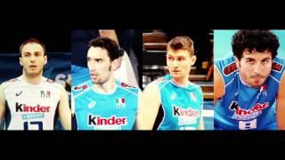 Volley Maschile - Argento a Rio 2016