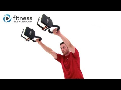 Double Kettlebell Workout - Fitness Blender's Calorie Blasting Kettlebell Training Image 1