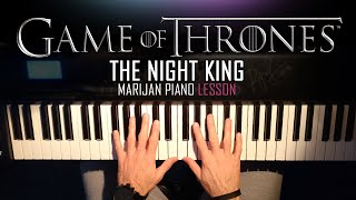 How To Play: Game Of Thrones - The Night King | Piano Tutorial Lesson + Sheets