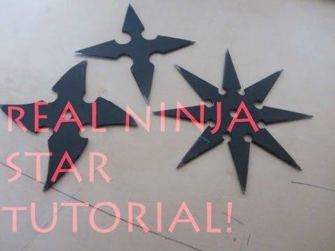 How To Make a Real Ninja Star/Shuraken